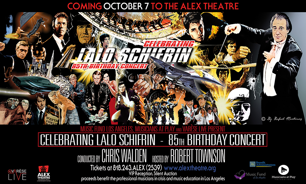 Lalo Schifrin (Horizontal Poster) Color